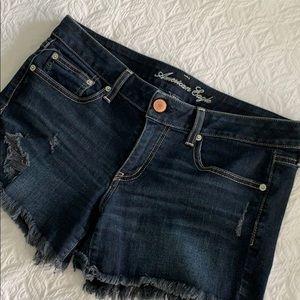 12 American Eagle women's denim shorts